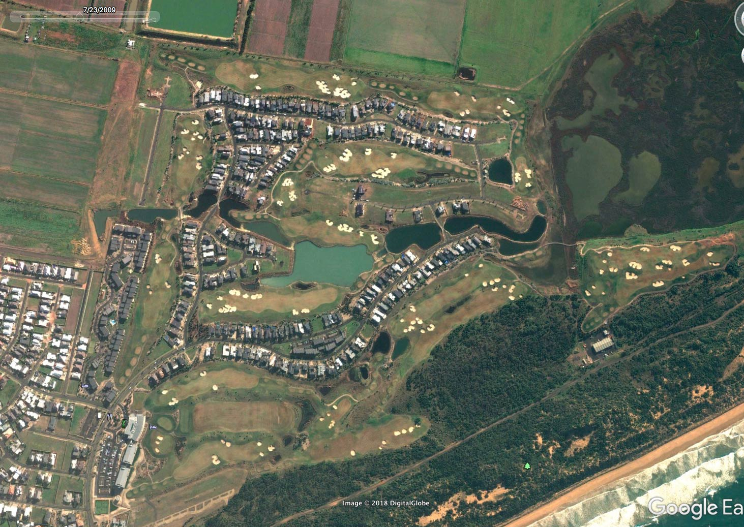 the-sands-estate-google-earth-2009