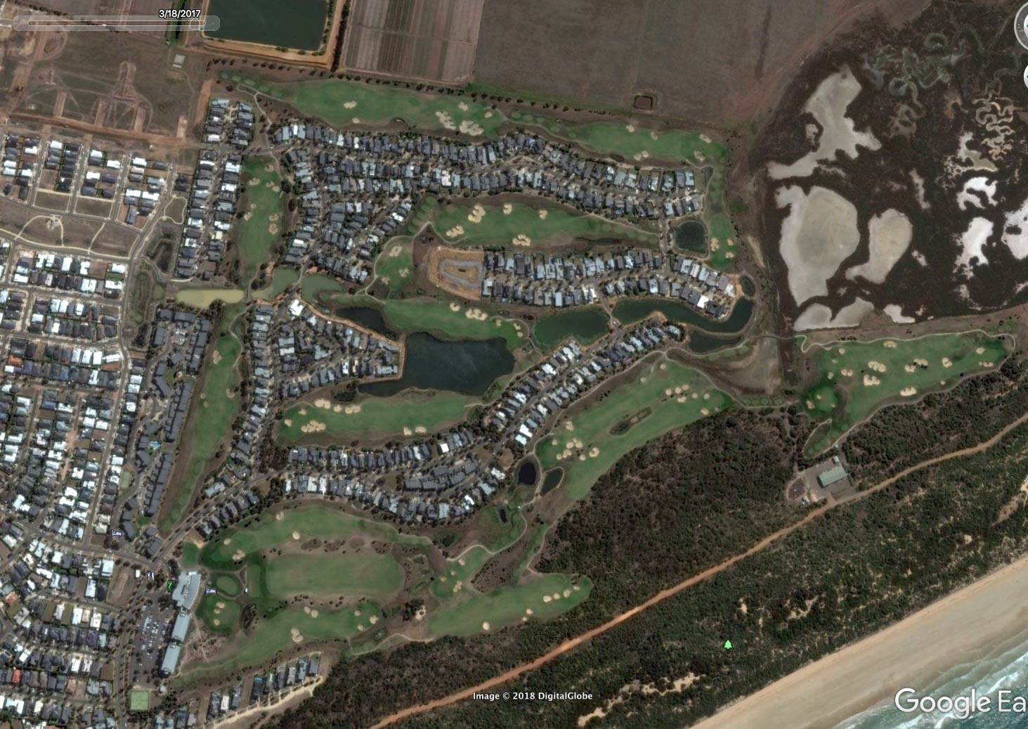 the-sands-estate-google-earth-2017