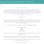 The Sands, Census and Community Survey 2021